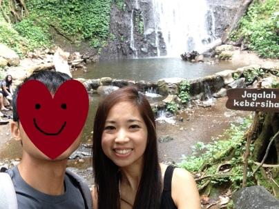 Mandatory we-fie against the waterfall.