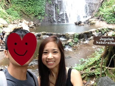 Mandatory we-fie against the waterfall.