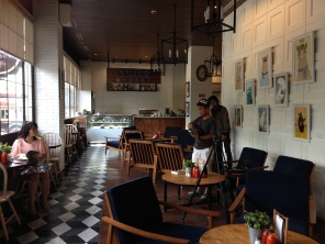 Level 1 of the cafe.