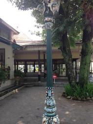 Lamp post from U.K.