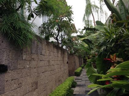 Row of villas