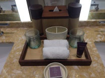 Asprey bathroom amenities.