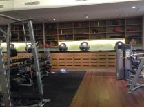 Strength-training equipment.