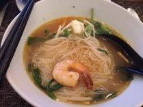 Love prawn noodles' broth.