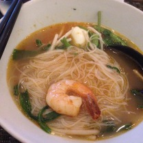 Love prawn noodles' broth.