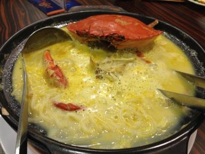 Crab beehoon.