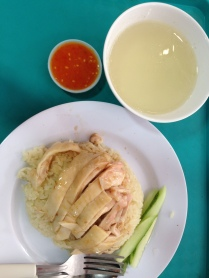 Leong Yeow Chicken Rice at Waterloo Street totally worth the queue!