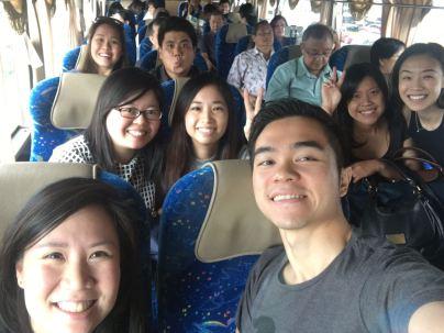 Coach bus we-fie!