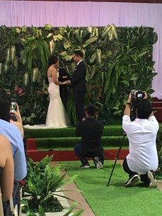 And I now proclaim you...husband and wife!!