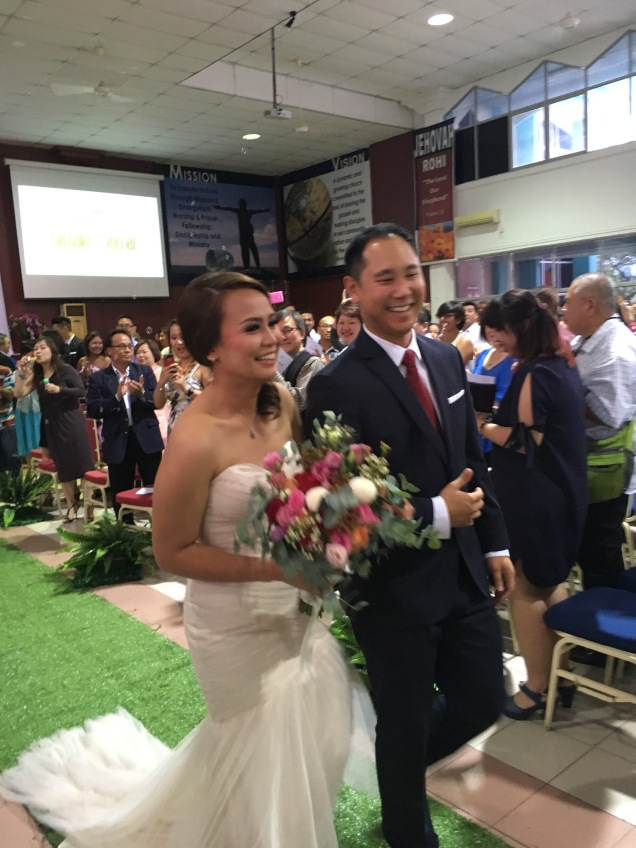 Congrats Mr and Mrs Gregosamy!