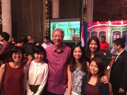 With DPM Teo. He's so tall!