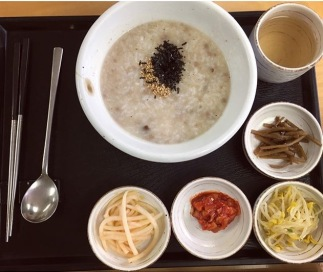Mushroom and Beef Porridge.
