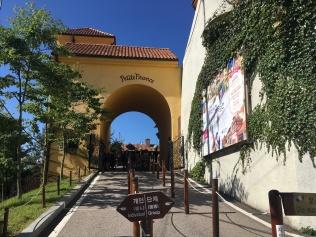 Entrance to Petite France.