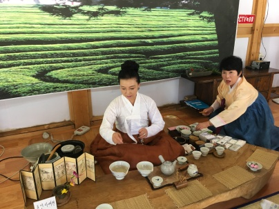 Traditional tea experience.